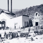 Historical Photo of Purissima Adit at San Acacio Mine